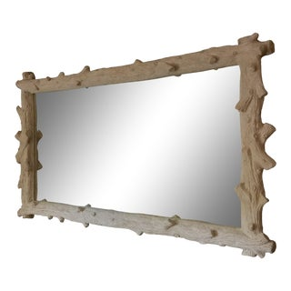 Oly Studio Faux Bois Mirror For Sale