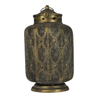 Decorative Lantern Oriental Large For Sale