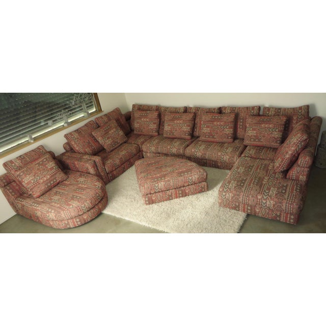 "1990s Vintage Roche Bobois ""Entre'Act"" Sectional Sofa- 5 Pieces For Sale In Los Angeles - Image 6 of 8"