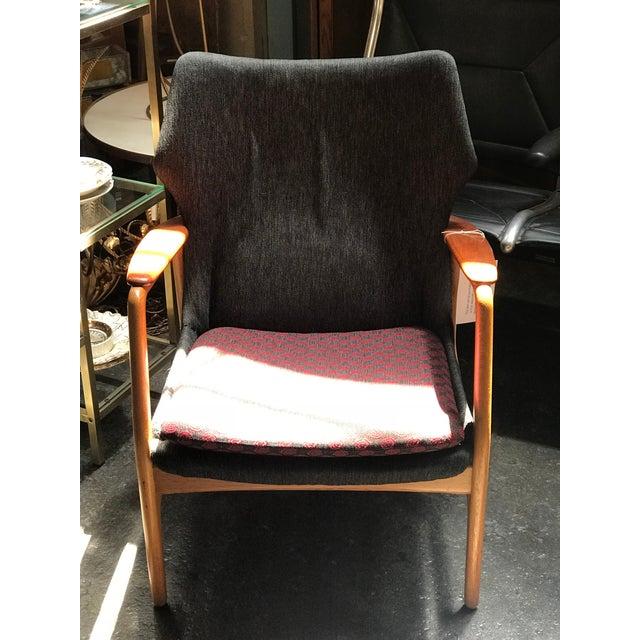 Aksel Bender Madsen Bender Madsen Danish Modern Low Back Lounge Chair For Sale - Image 4 of 5