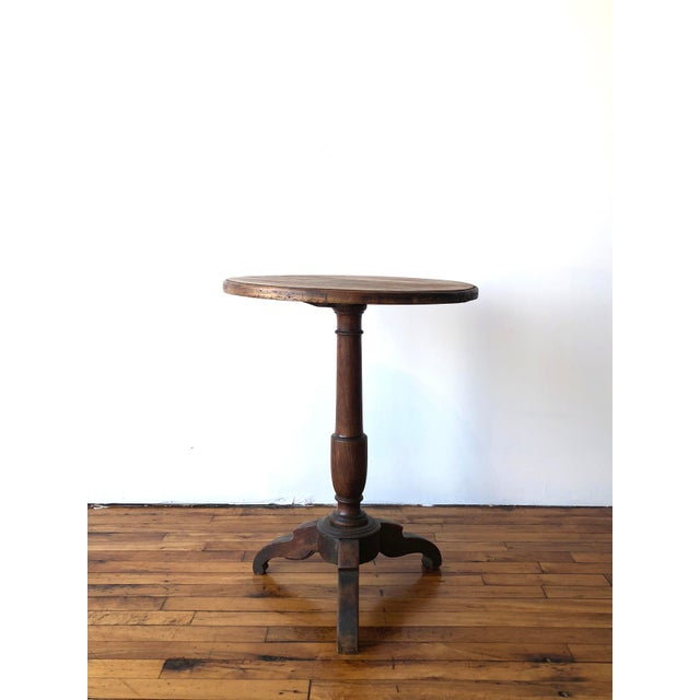 Early 20th Century Early 20th Century French Country Oak Wine Table For Sale - Image 5 of 5
