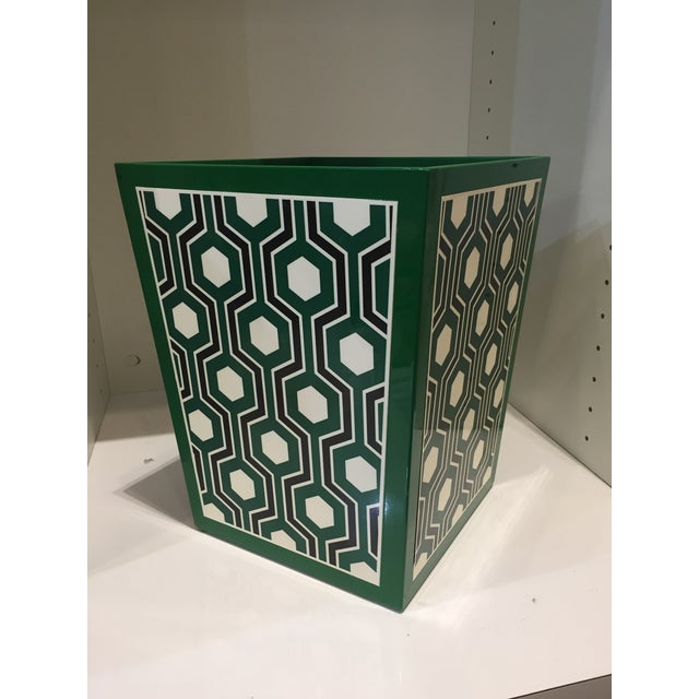 2010s Bungalow 5 Sasoon Waste Basket For Sale - Image 5 of 5