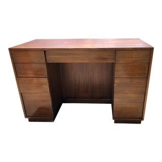 1950s Mid Century Modern Paul McCobb for Drexel Executive Desk For Sale