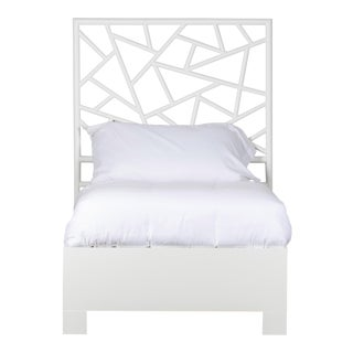 Tiffany Bed Twin - White For Sale