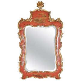 Image of Red Wall Mirrors