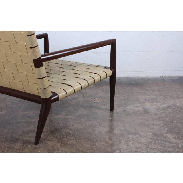 Pair of Lounge Chairs by T.H. Robsjohn-Gibbings For Sale - Image 10 of 11