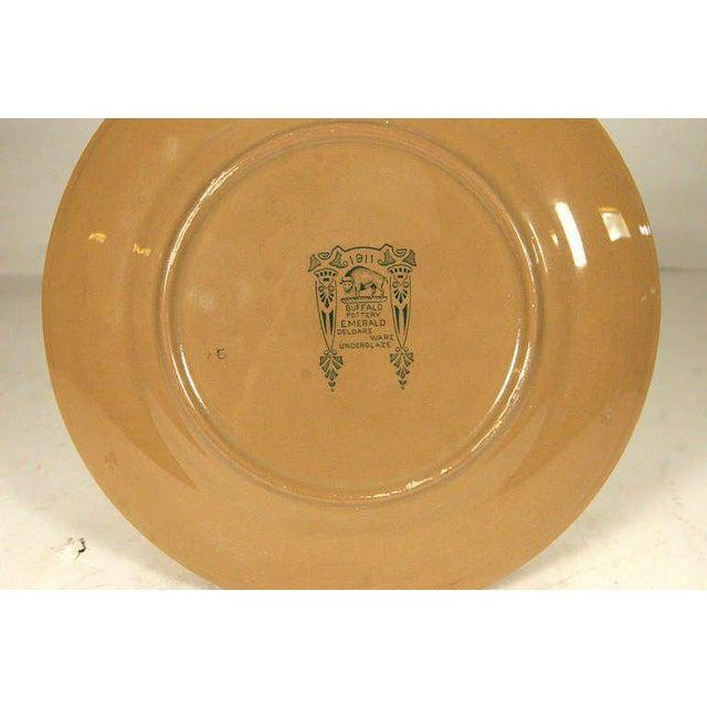 "Buffalo Pottery Deldare ""Misfortune at Tulip Hall"" Plate - Image 4 of 4"