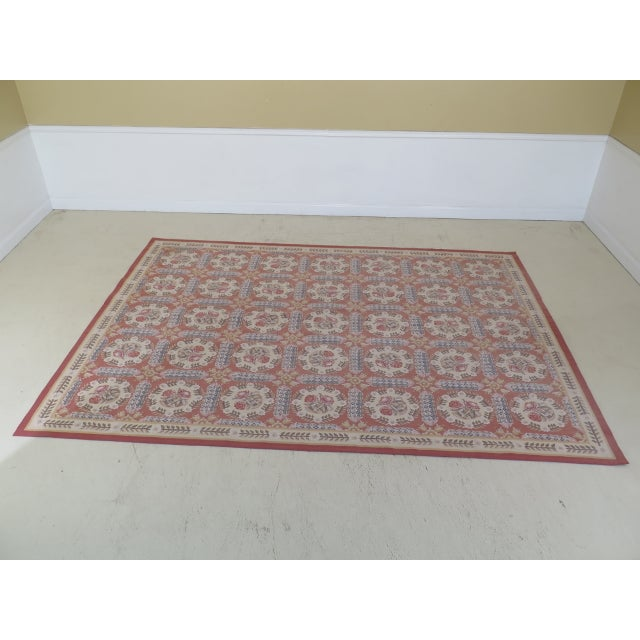 1980s Aubusson Room Size Rug - 8' X 12' For Sale - Image 13 of 13