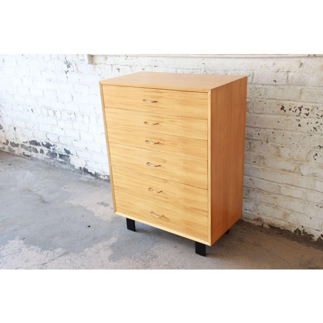 Wood George Nelson for Herman Miller Highboy Dresser For Sale - Image 7 of 13