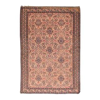 Antique Senneh Persian Kilim Rug For Sale