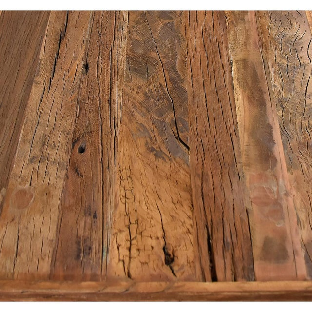 Reclaimed Wood Coffee Table - Image 3 of 3