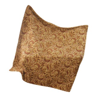 French Piquee Boutis Embroidered Look Quilt For Sale