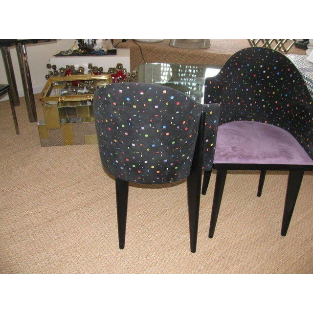 1990s Saporiti Mid-Century Modern Chairs - a Pair For Sale - Image 5 of 5