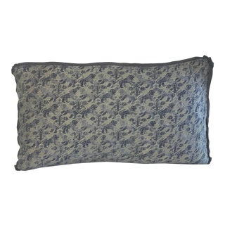 Custom Fortuny Lumbar Pillow For Sale