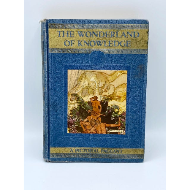 Blue C.1946 the Wonderland of Knowledge Book For Sale - Image 8 of 8