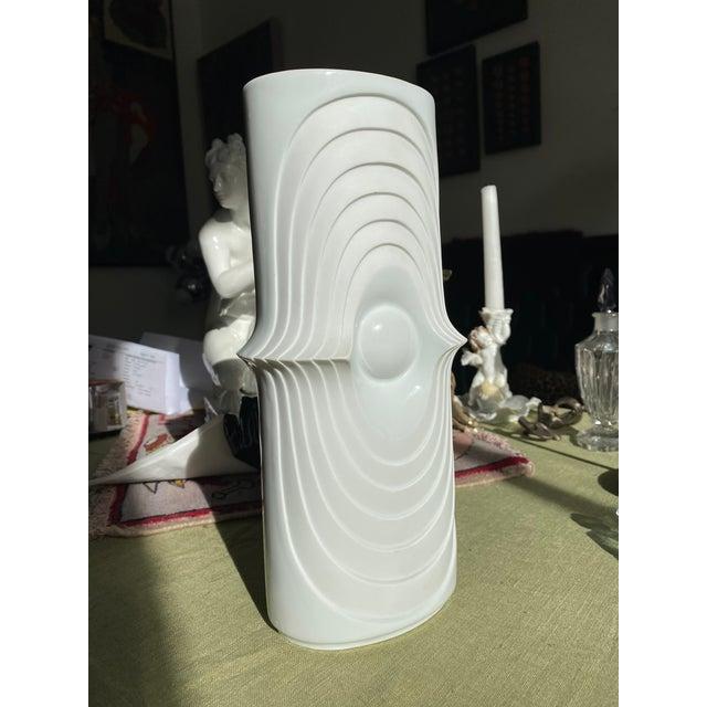 Ceramic 1960s Mid Century Atomic German Vase For Sale - Image 7 of 9