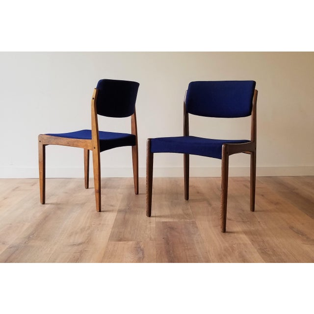 1960s Danish Rosewood Dining Chairs - Set of 6 For Sale - Image 4 of 13