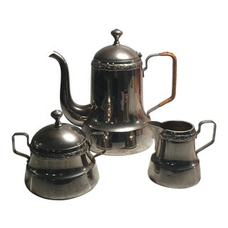 1920s Vintage Swedish Tea/Coffee Set - Set of 3 For Sale