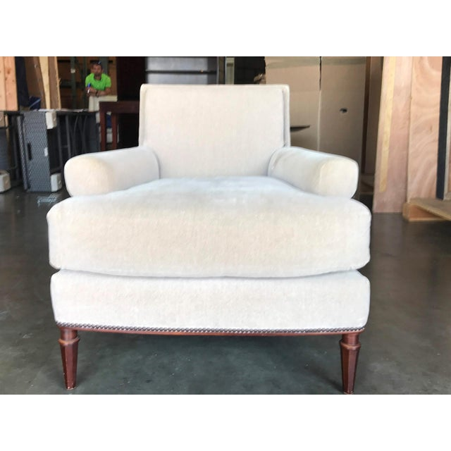 Modern Baker Yves Lounge Chair For Sale - Image 10 of 10