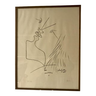 Jean Cocteau Lithograph For Sale