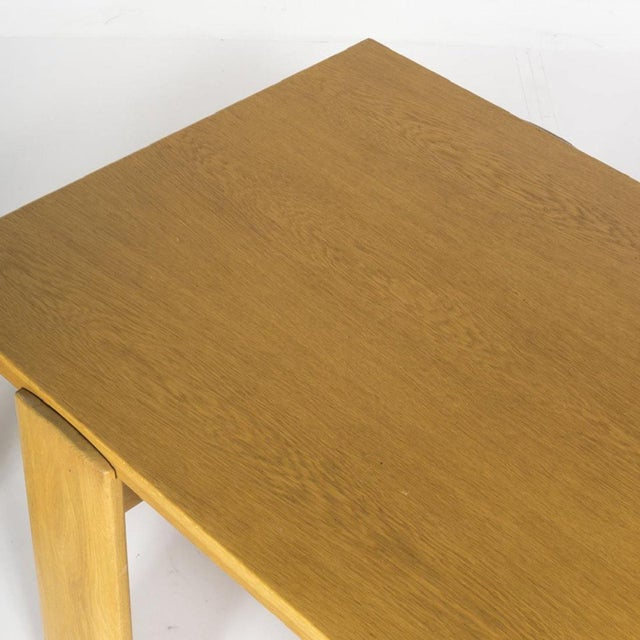 Mid 20th Century 20th Century Scandinavian Oak Coffee and Side Table - 2 Pieces For Sale - Image 5 of 6