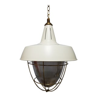 Henry Industrial Hanging Light For Sale
