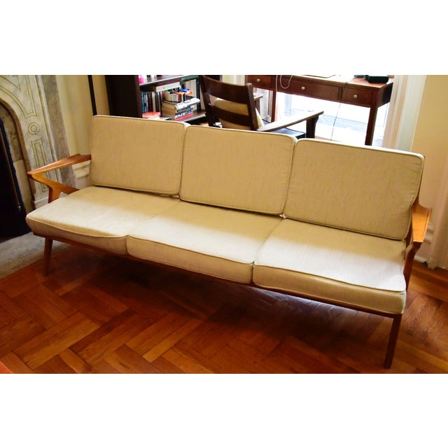 Danish Modern Z Sofa - Image 2 of 5