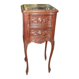 19th Century Louis XV Marble Side Table For Sale