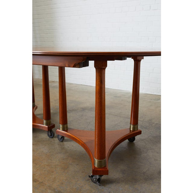 Swedish Biedermeier Style Library or Dining Table For Sale - Image 12 of 13