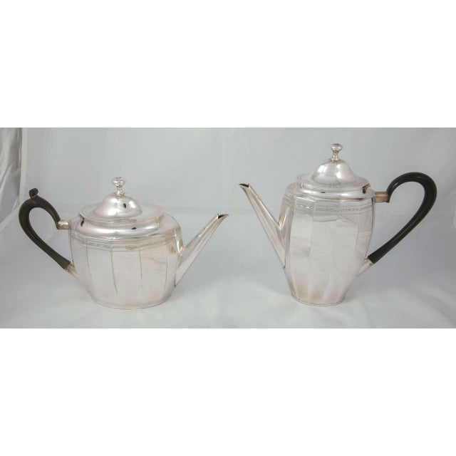 Coffee and Tea Pot Set For Sale - Image 6 of 7