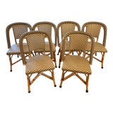 Image of Set of 6 Maison Drucker Marly Bistro Chairs For Sale