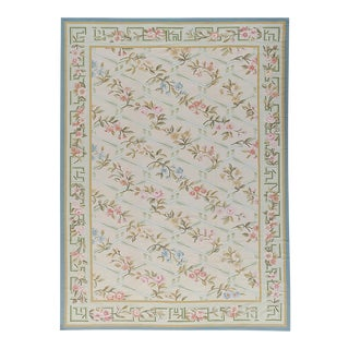 """Pasargad Aubusson Hand Woven Wool Rug - 10'0"""" x 13'10"""""""