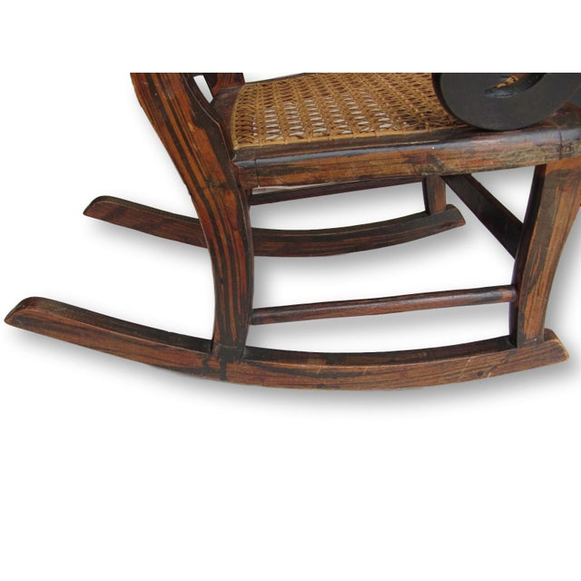 Antique Child's Rocking Chair - Image 6 of 8