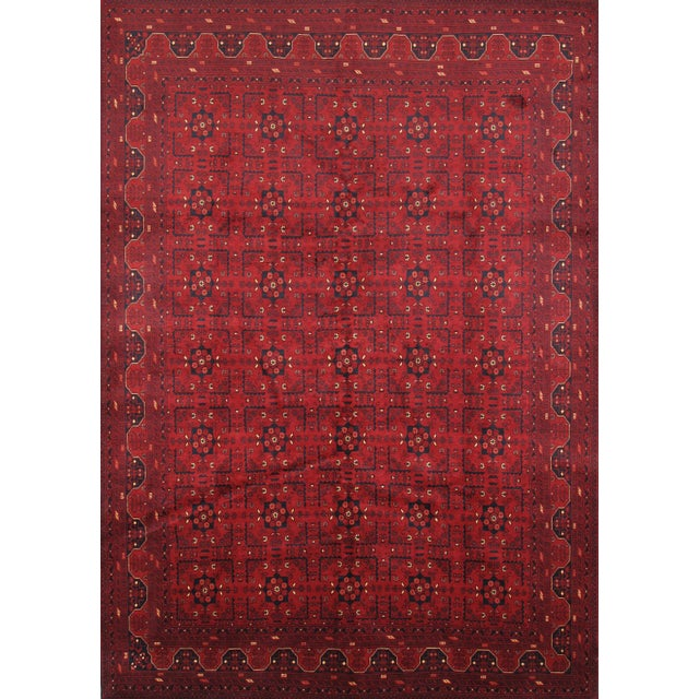 Pasargad Yamoud Oriental Wool Area Rug - 7'x10' For Sale
