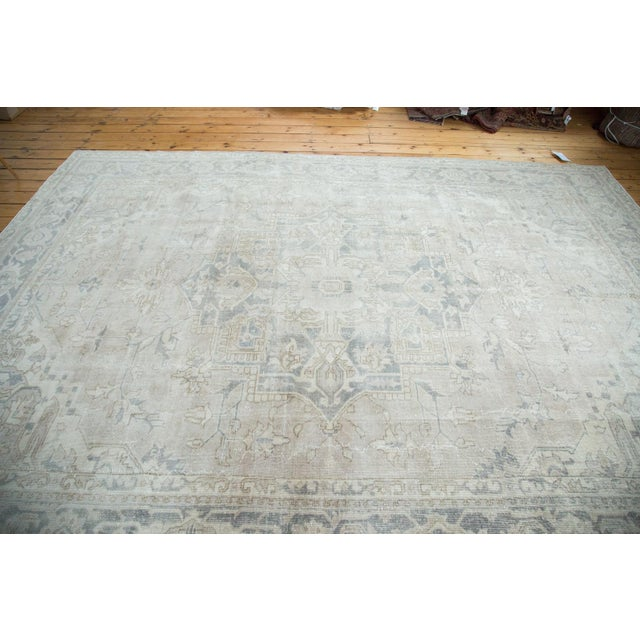 "Distressed Oushak Carpet - 8'9"" X 12'2"" - Image 3 of 10"