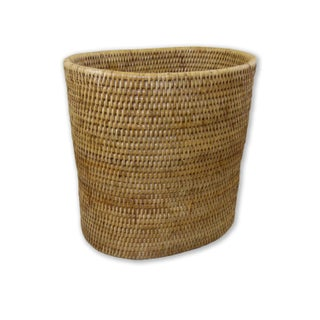 Artifacts Rattan Round Waste Basket Preview