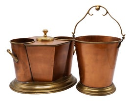Image of Copper Ice Buckets