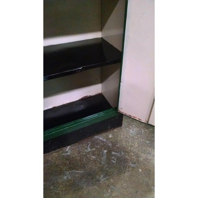 Vintage Metal Industrial Storage Locker For Sale - Image 4 of 8