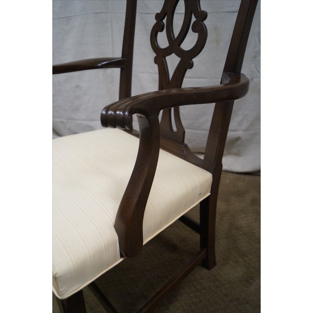 Kittinger Mahogany Dining Chairs - Set of 8 - Image 8 of 10