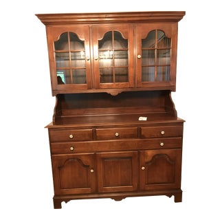 Hitchcock Cabinet & Hutch