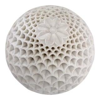 Pinecone Globe Floor Lamp For Sale
