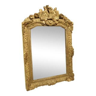 Antique Period Regence Mirror From France, Circa 1715 For Sale