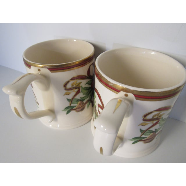 Christmas Mugs by Tiffany & Co - A Pair For Sale - Image 9 of 13