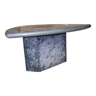 Kingma Style Slate and Bronze Coffee Table v. Rambburon, Circa 1985