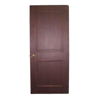 Two-Panel Office Door