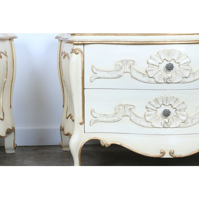 French Chest of Drawers - Pair - Image 4 of 11
