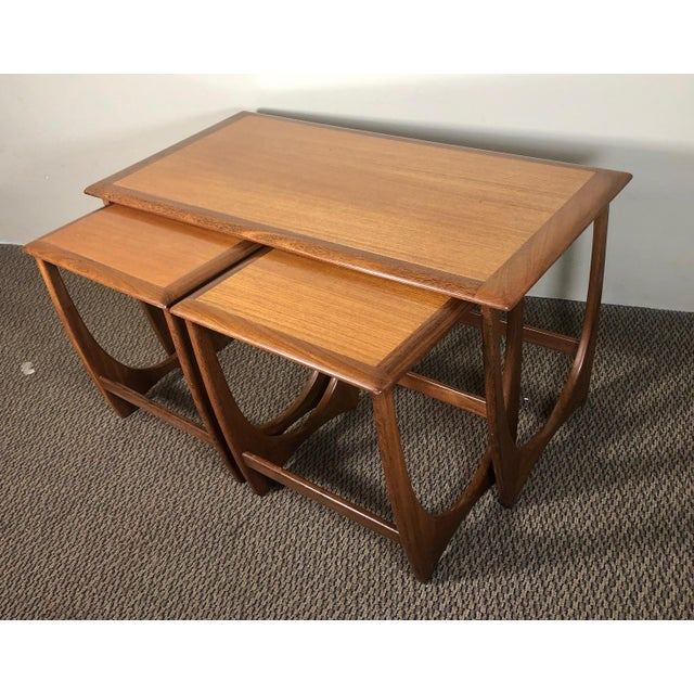 Mid Century Teak Coffee and Nesting Table Set by G Plan For Sale - Image 13 of 13