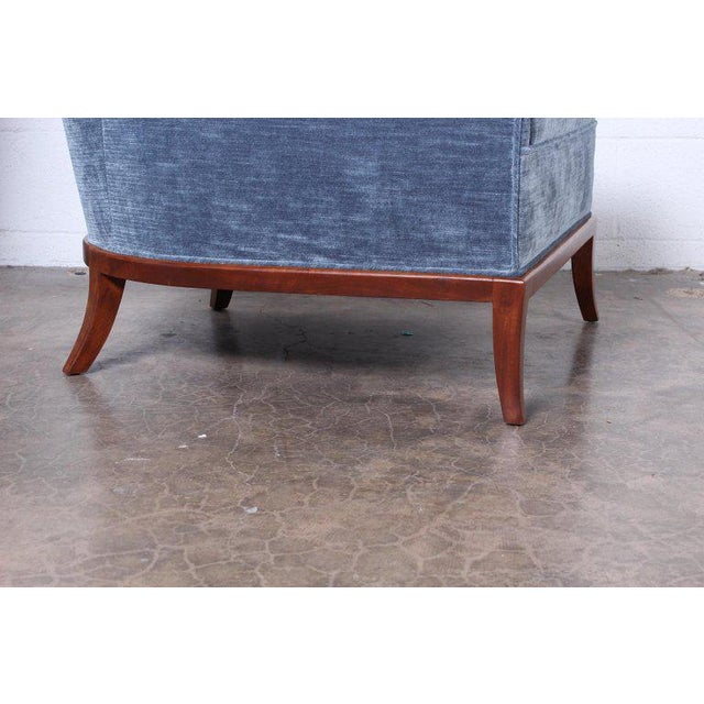 Widdicomb Pair of Slipper Chairs by t.h. Robsjohn-Gibbings for Widdicomb For Sale - Image 4 of 12