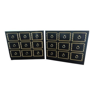 Dorothy Draper Bunching Chests-a Pair For Sale