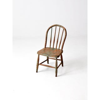Vintage Children's Spindle Back Chair Preview
